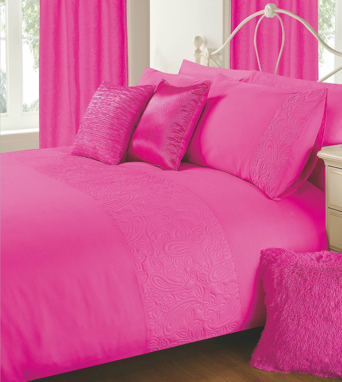 Alexis Embossed Duvet Cover Set From Century Textiles