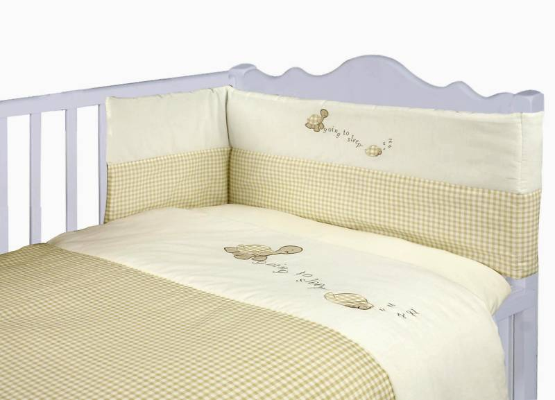 Baby Turtle 3 Piece Cot Set From Century Textiles