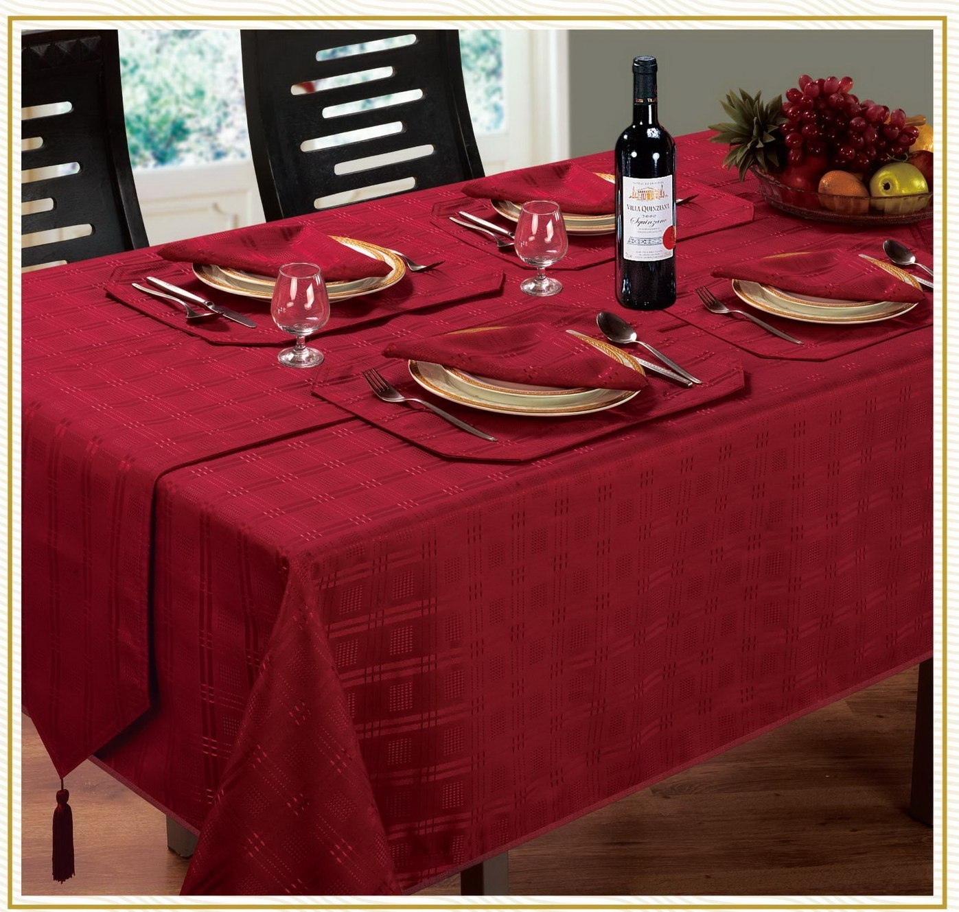 Hampton Jacquard Table Linen From Century Textiles