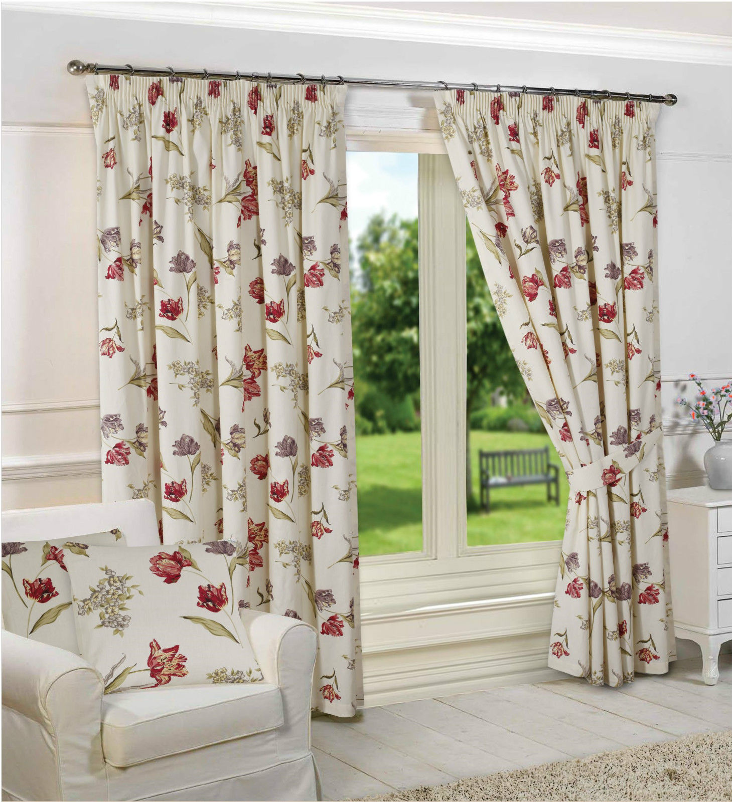Madeline Pencil Pleated Tape Top Curtains From Century