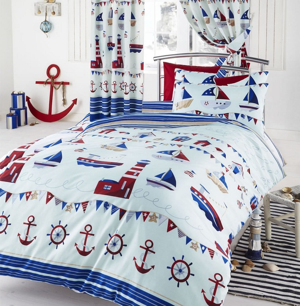 Nautical Duvet Cover Set From Century Textiles