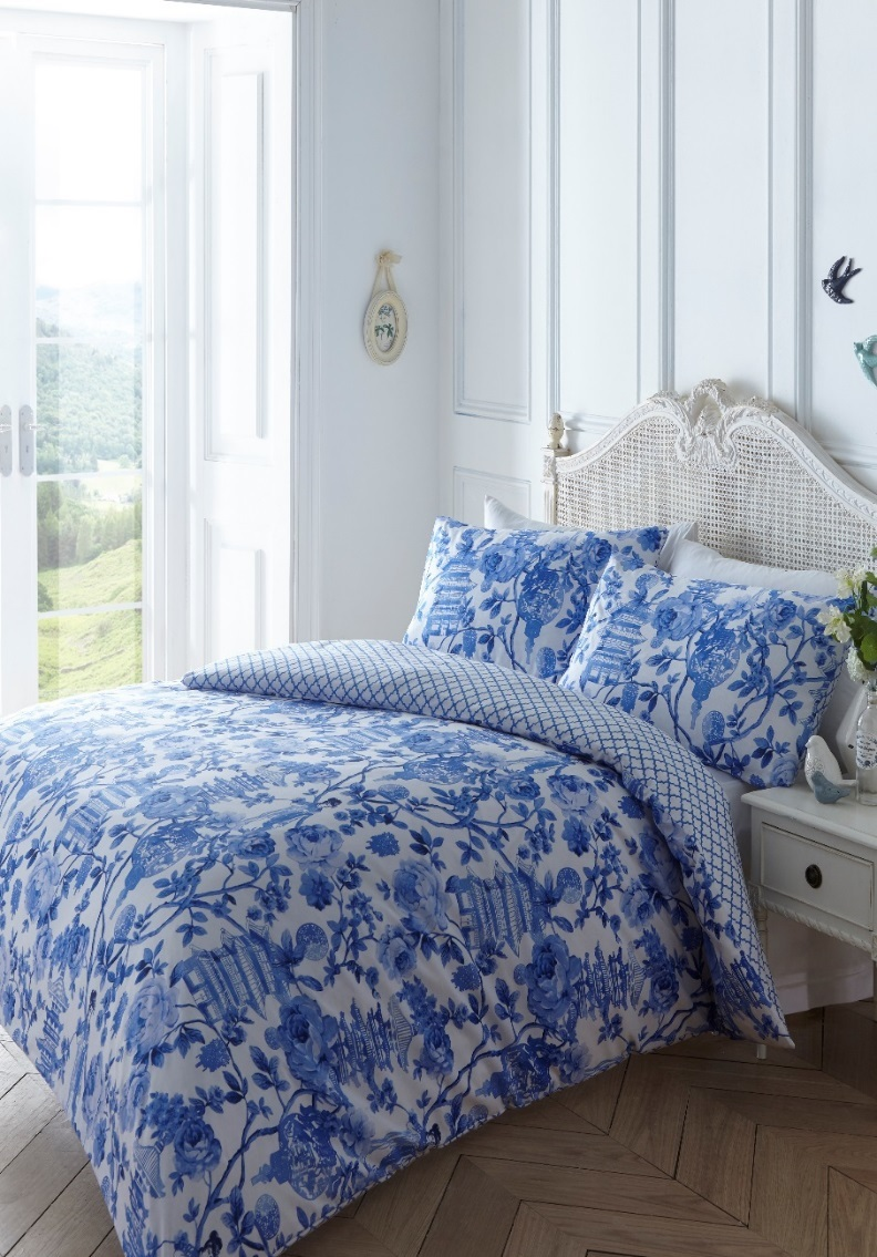 Toile Duvet Cover Set From Century Textiles