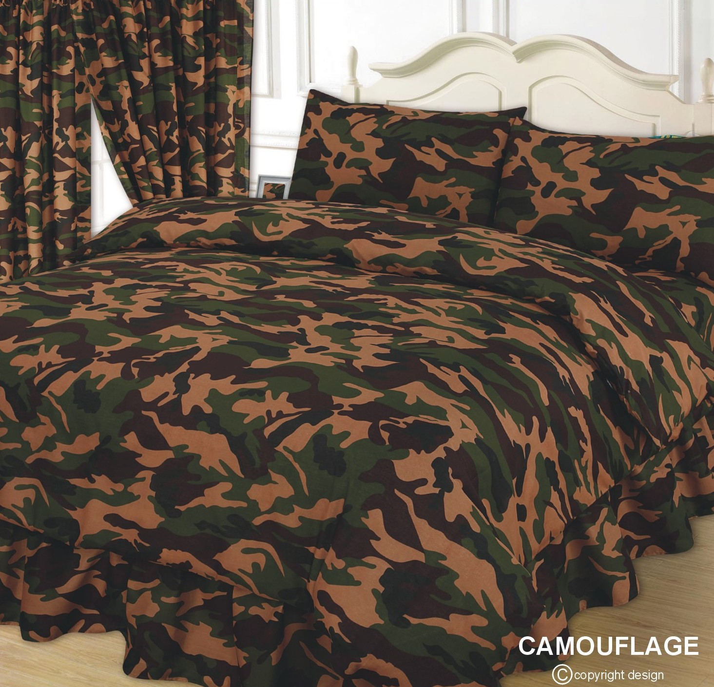 Army Camouflage Duvet Cover Set From Century Textiles