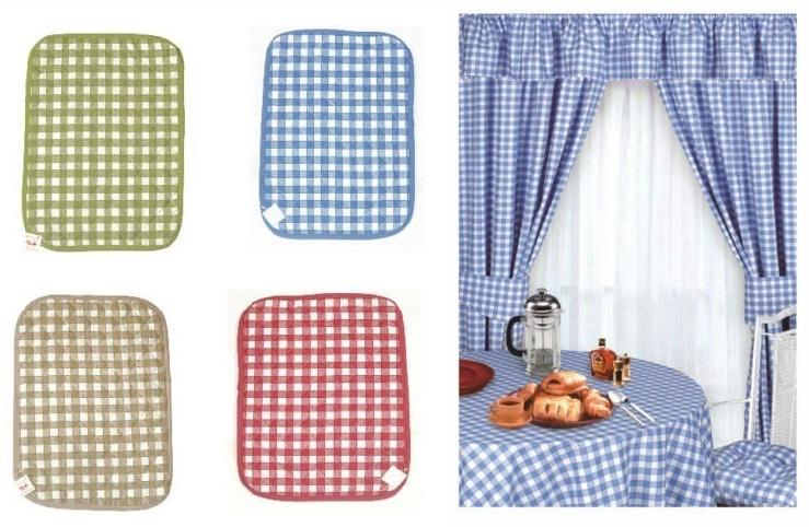 Gingham Kitchen Curtains From Century Textiles